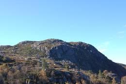 Utsikt mot Smalanutane  -  Foto: Roald Årvik