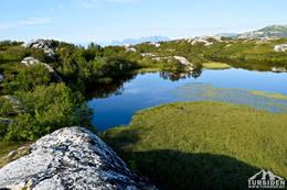 Fra Turisthytta til Pallvatnet - Foto: Tursiden for Bodø og Salten