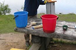 Vasking av skuffer - Foto: