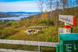 Nydelig utsikt på toppen -  Foto: Andreas Gunnberg Johansen