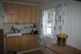 Kjøkkenkroken på Annekset -  Foto: Ukjent