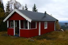 Ubetjent hytte, finnskogen Turistforening, Elverum Finnskog - Foto: Berit Holø