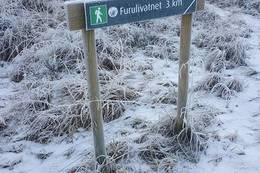 Samme startsted som til Furulivatnet -  Foto: Kari Raaket