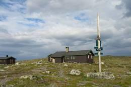 Turen ender i flotte omgivelser ved Sulebu. -  Foto: Camilla Horten