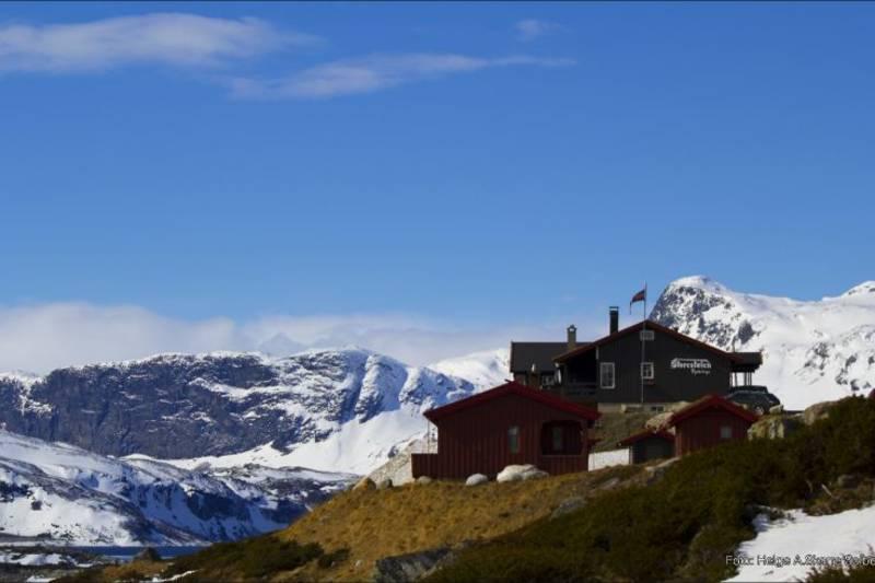 Vakkert beliggende på 1030 m.o.h.