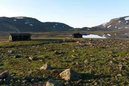 Hyttene - Foto: Reidar Berge