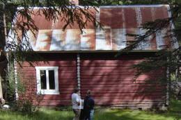 ubetjent hytte, Brandval Finnskog, Finnskogen Turistforening - Foto: Åsmund Skasdammen
