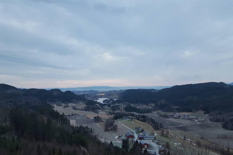 Utsikt fra Limonberget