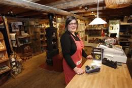 Gulburet kafé og butikk - Foto:
