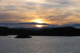 Utsikt fra kjøkkenet over Store Halvorsvei. - Foto: Kristiansand og Opplands Turistforening