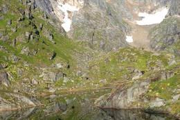 Isvatnet ved Trollfjordhytta - Foto: Marianne Rønning