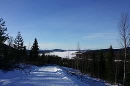 Utsikt på nedoverturen - Lustadvatnet - Foto: Kathrine K. Skjelvan, Visit Innherred