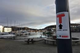 Trones-Sentrumturen i Sandnes -  Foto: Knut Sellevold