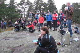 Bjørn Erland holdt appellenpå Linnåsdagen i 2011. - Foto: Floke Bredland