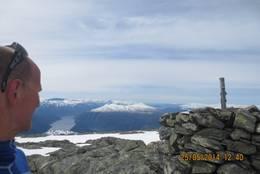 Utsikt frå Vassfjøra mot Osafjorden - Foto: