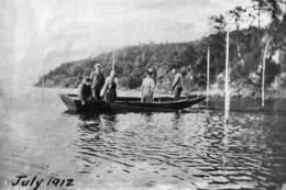 Fiske med bunngarn i Frebergsviken - Foto: Privat arkivbilde