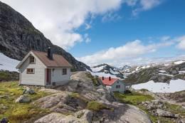 Norddalshytten -  Foto: Frikk H. Fossdal