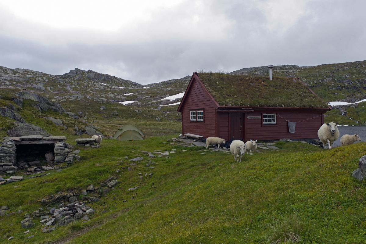 Tvinnestølen tilhørende Voss utferdslag. 9/8 -2012.