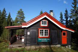 Velkommen til Lille Tømtehytta - Foto: Tore Havsø Sæstad
