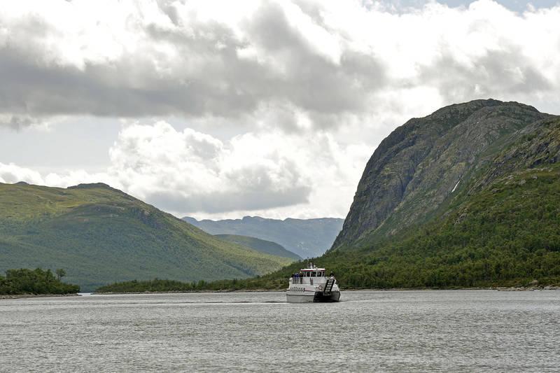 Mange tar Fjellvåken inn til Mogen.
