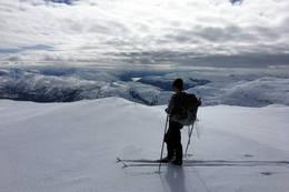 Utsikt fra Skorafjellet - Foto: Johnny Bjørge