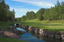 Idyll ved golfbanen - Foto: Ukjent