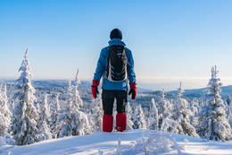 På toppen av Stubberudseterhøgda -  Foto: Thomas Berglund