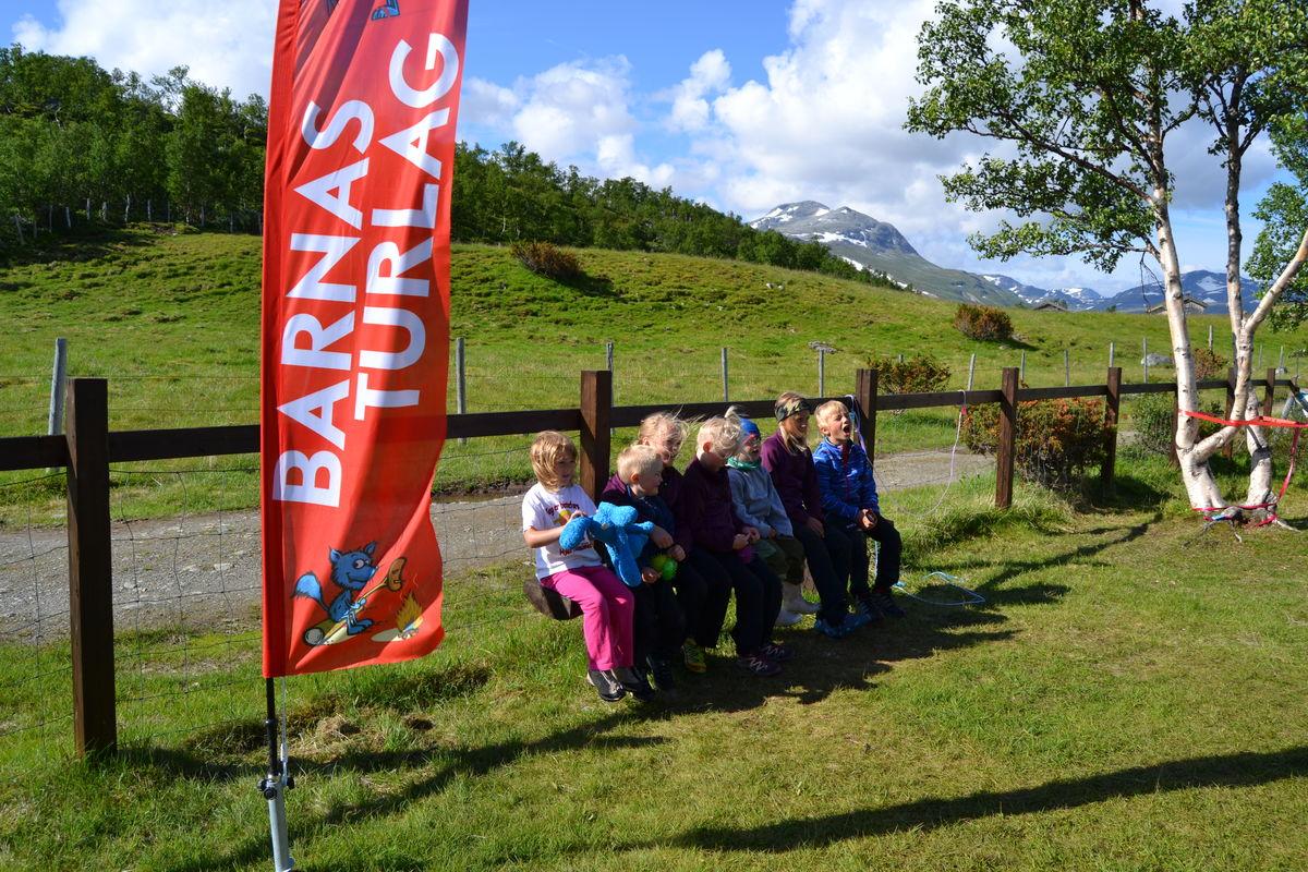 Barnas Turlag arrangerer fjell-leir på Jøldalshytta
