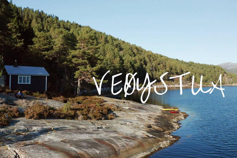 Veøystua -på et historisk sted i Romsdalsfjorden