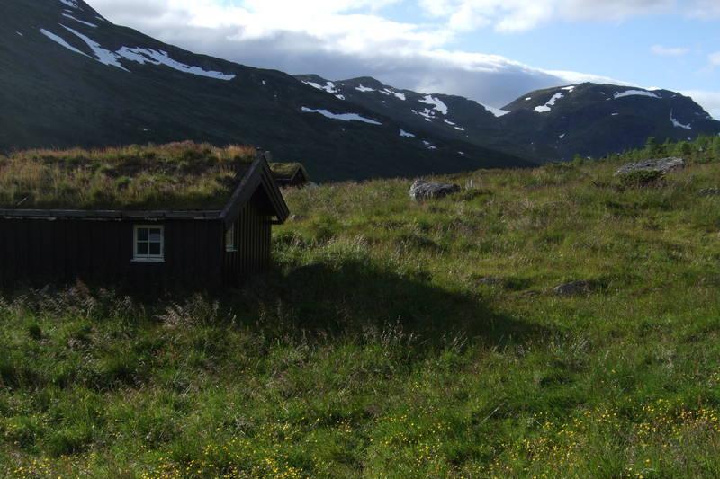 Uthuset på Kljåen.