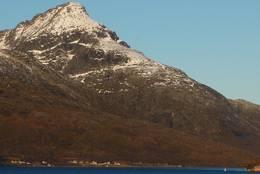 foto fra veien i Kaldfjord. - Foto: Jan Børre Henriksen
