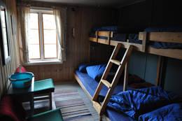 Et av to soverom på Øvresaga - Foto: Hallgrim Rogn