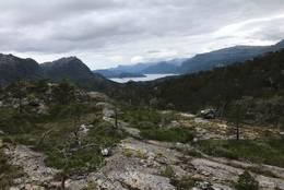 Frå turen over til Vassetestøylen - Foto: Marit Linda Espeseth