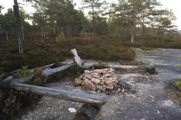 Bålplass - Foto: Einar Vestnes