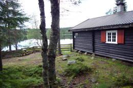 Hytta ved Råbjørn  - Foto: Vibeke Brems