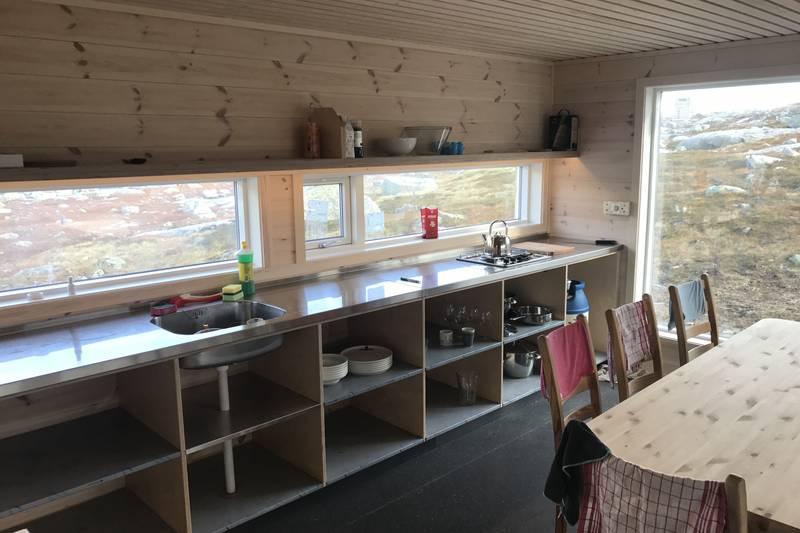 Kjøkken nye hytta