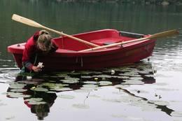 Stille vann med vannliljer - Foto: Anne Katrine Lycke