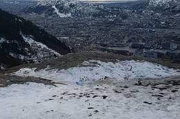 Utsikt fra toppen av Stoltzekleiven -  Foto: Jonny Lie