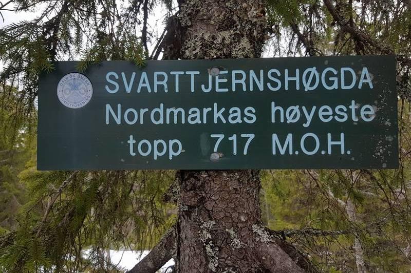 Nordmarkas høyeste topp