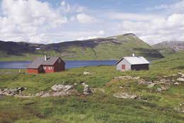Åsedalen er selvbetjent og tilgjengelig hele året. Her finner du 2 hytter med tilsammen 26 senger. - Foto: Ukjent