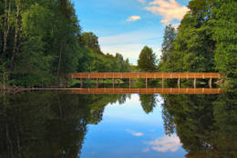 Kjelsåsbroen langs Akerselven - Foto: Bjørn Chr. Tørrisen