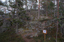 Bygdeborga Trellsborg -  Foto: Arne W. Hjeltnes