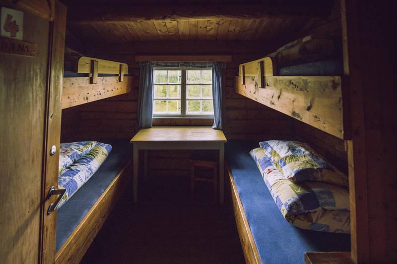 Schulzhytta er Norges minste betjente hytte