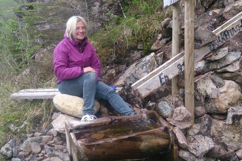 Kaldvassbekken har alltid friskt vann