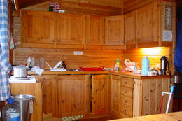 Trygvebu - Kjøkkenkroken - Foto: Berit Irgens