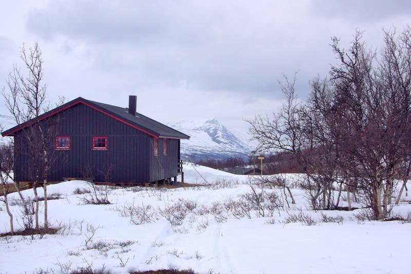 Sein vinter ved Dividalshytta