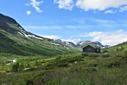 Sommeridyll ved Kljåen i Hemsedal -  Foto: Monica Muldbakken