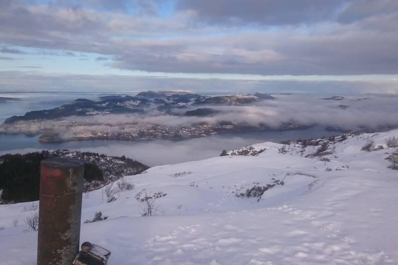 Toppen av Tellevikafjellet