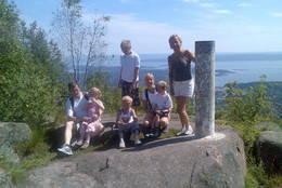 Et turfølge på Skaugumsåsen -  Foto: Camilla Mohr