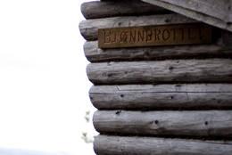 Gapahuk på bjønnbrottet. En av mange, flotte rasteplasser på turen. - Foto: Ingolf Zeiner Petersen